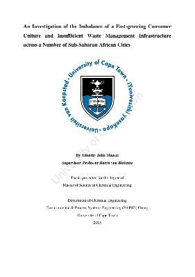 masters thesis on waste management