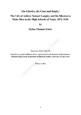 uct thesis