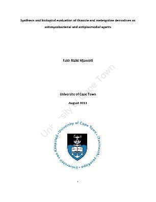 thesis on thiazole