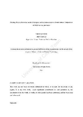 Dissertation on aslyum seekers children