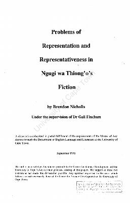 Fischer thesis debate