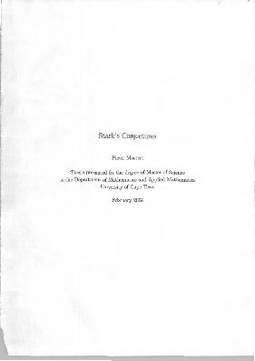 Applied math thesis topics