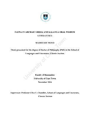 les clauses leonines dissertation